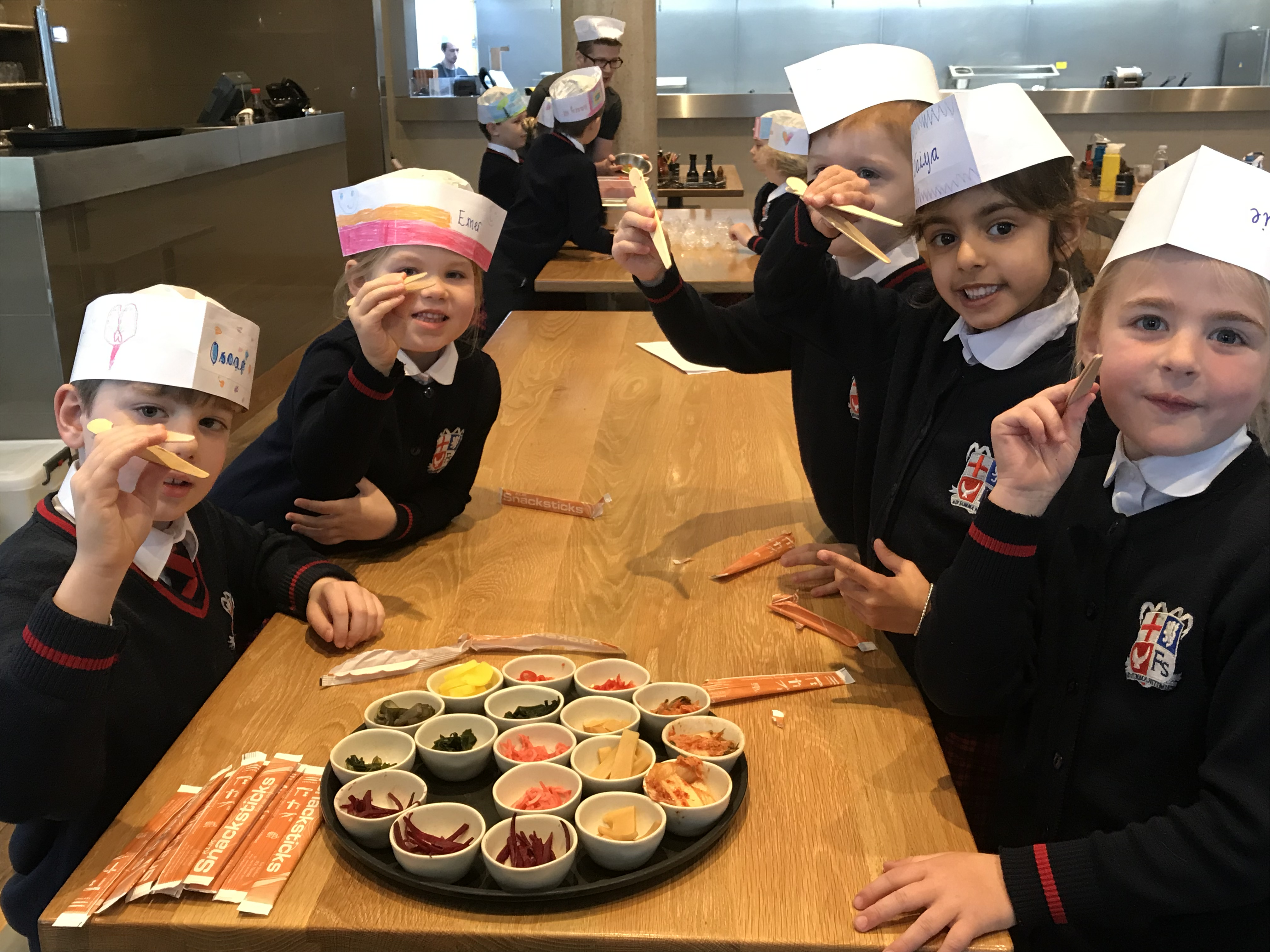 new flavours, new textures & new experiences for prep 2 at wagamama