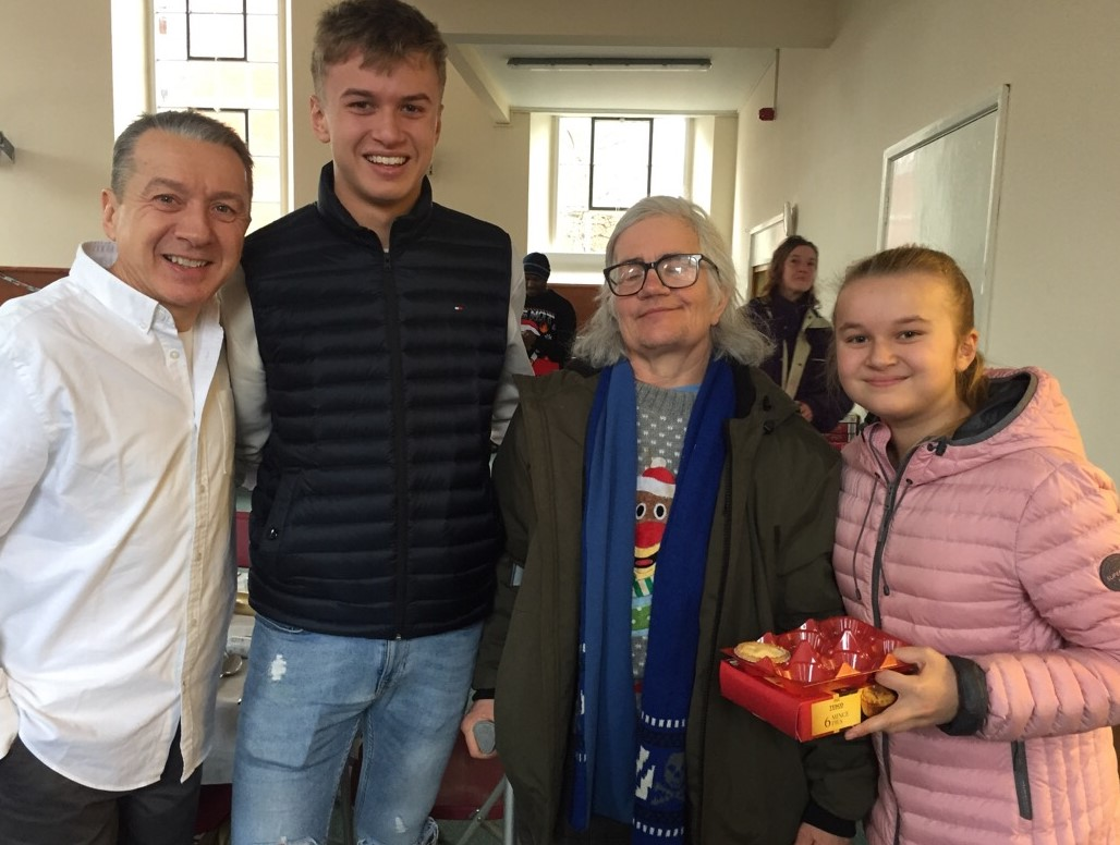 Good Christmas Deed by Finborough Students