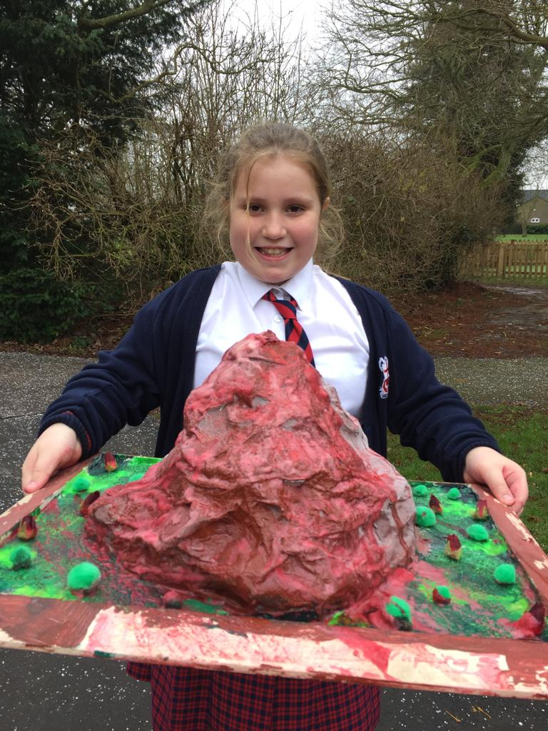 Mount Vesuvius has erupted!