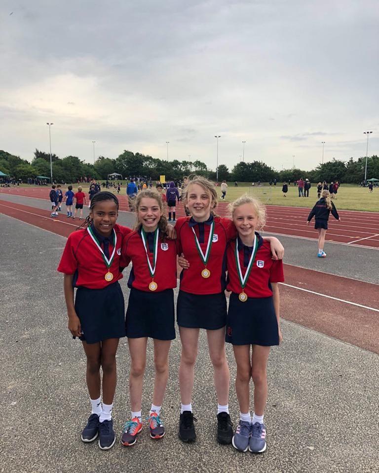 Finborough Strike Gold at the Junior Athletics