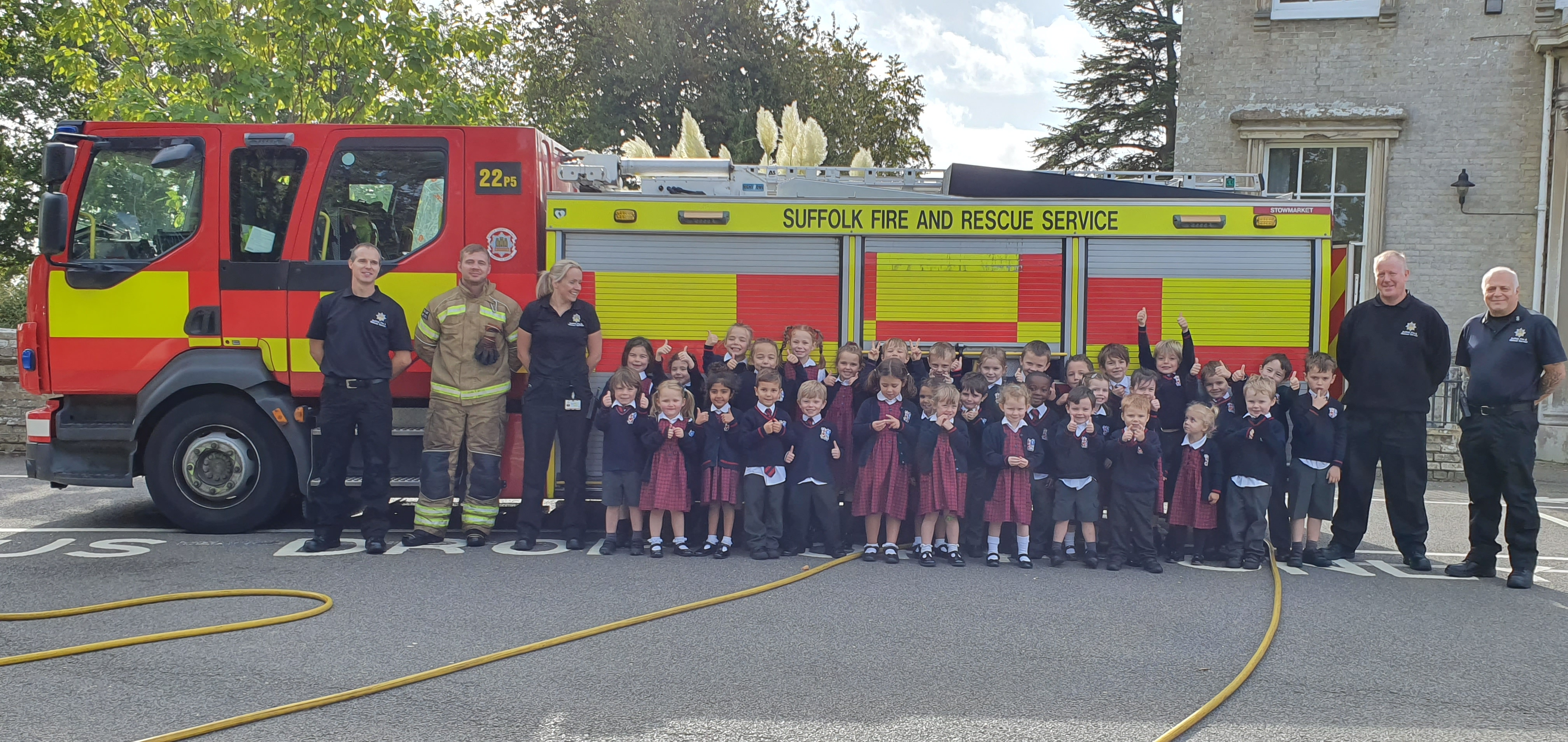 Pre-Prep, Fire Engines and Chasing Rainbows