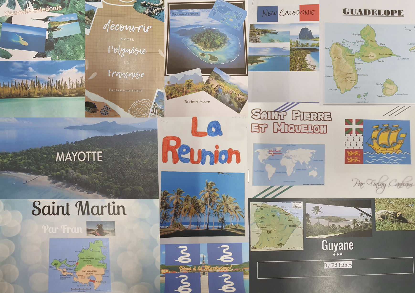 Year 9 – French Research Project.