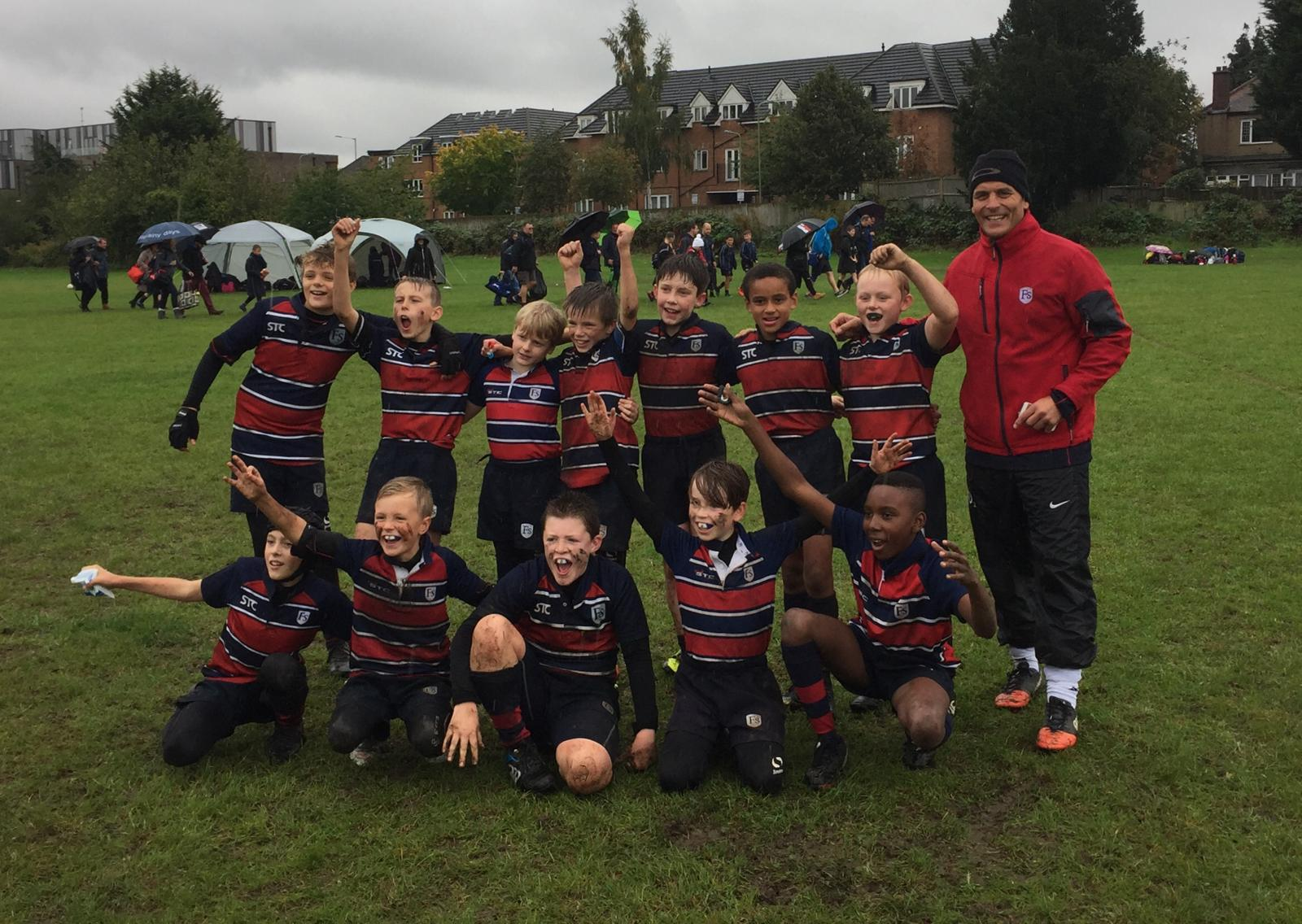 An Outstanding Performance from our U11 Rugby Team!