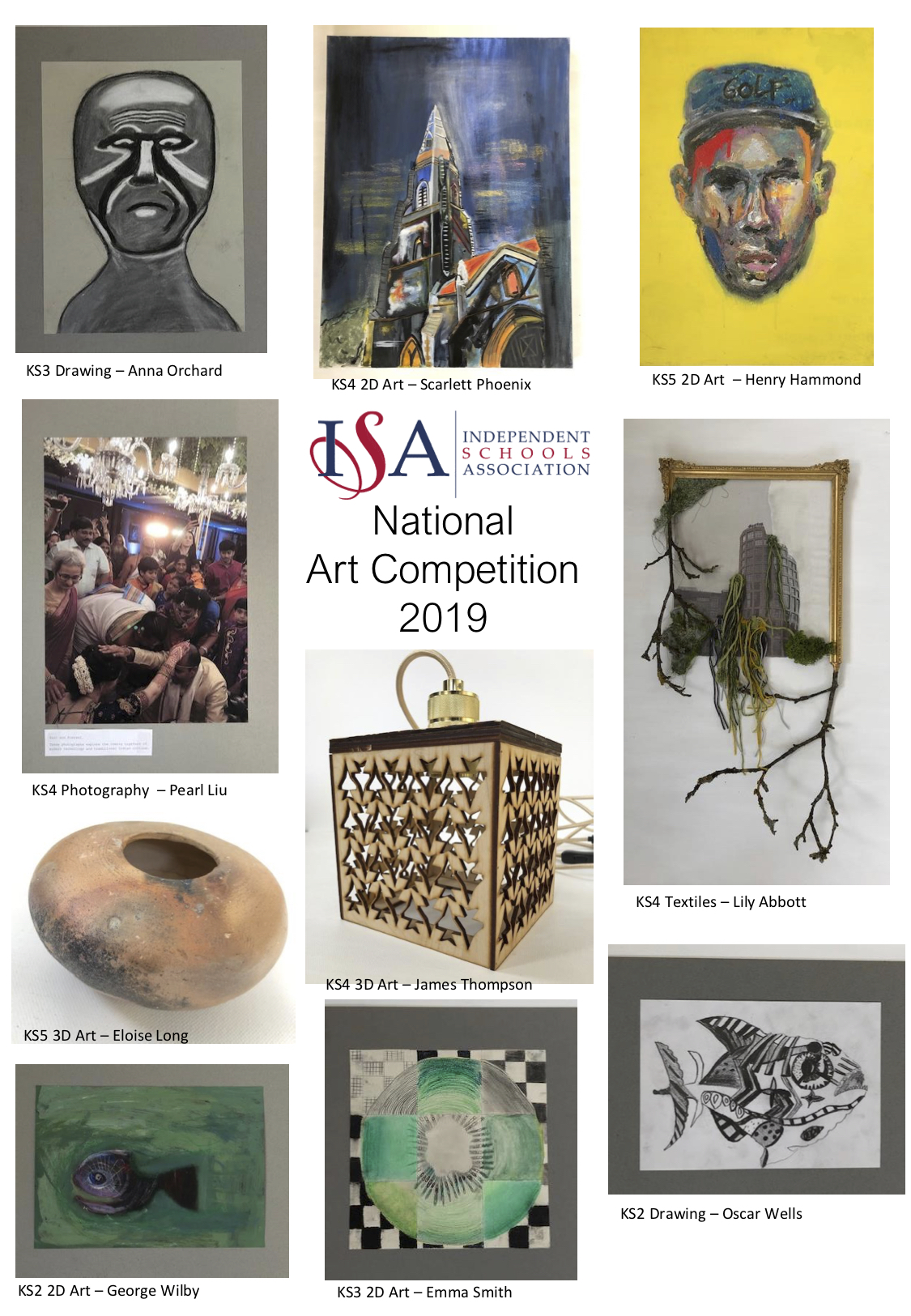 The 2019 ISA National Art Competition