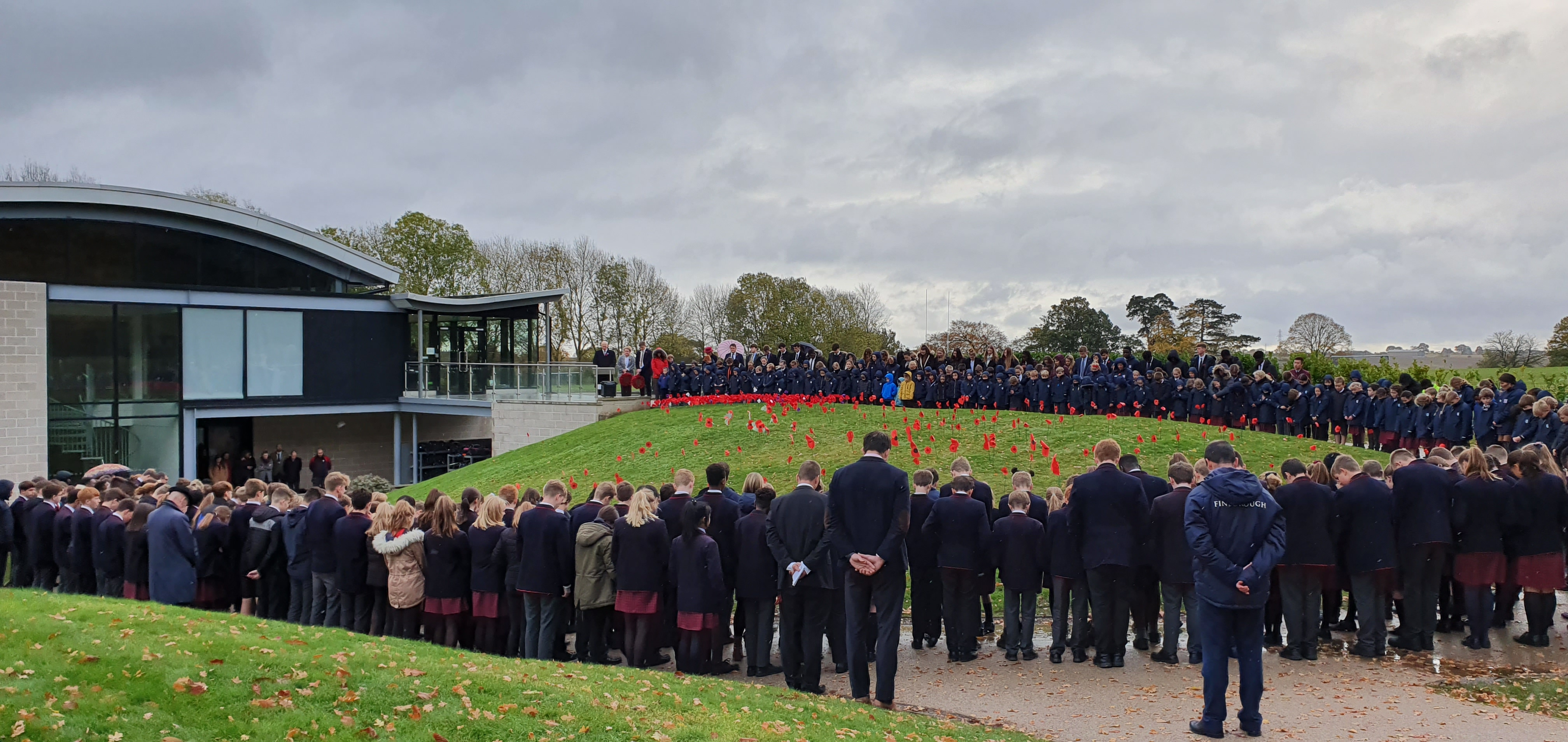 Remembrance at Finborough School