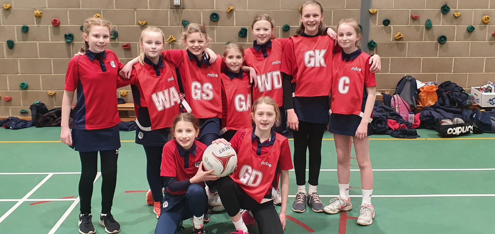 Success at the ISA Regional Netball Competition