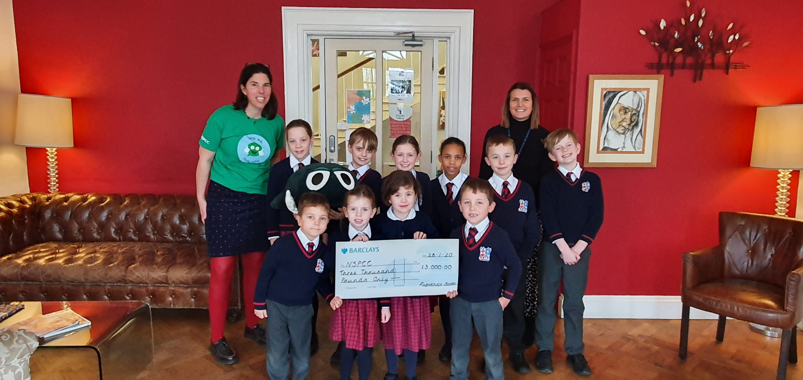 Finborough School Donate to the NSPCC