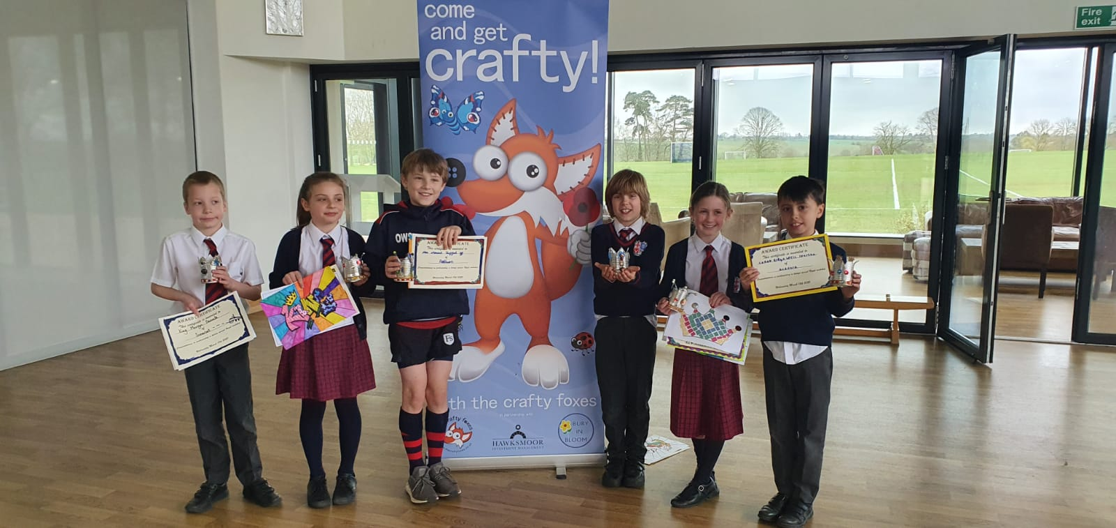 Prep 4 and the Crafty Foxes