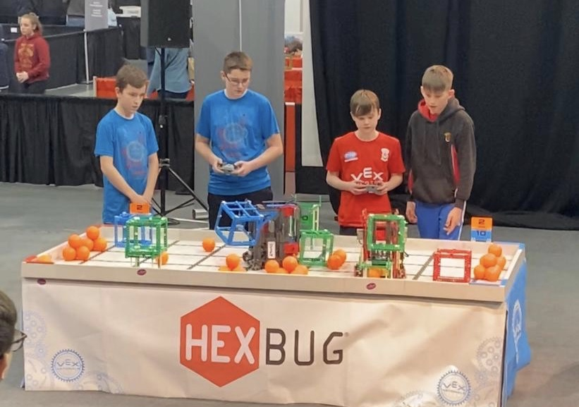 🤖 FINQ Robot Competes at the National Finals