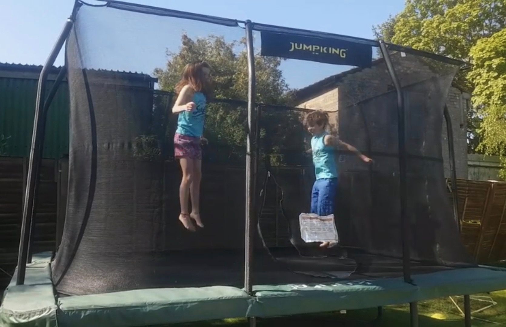 Students bounce for Charity