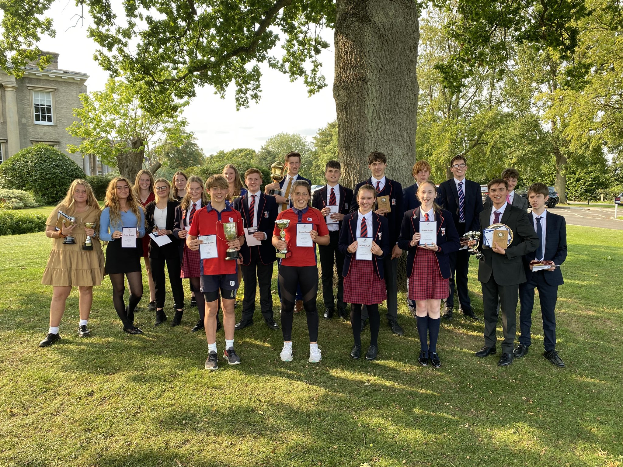 2020 Prize Giving Winners